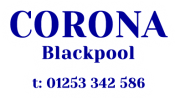 The Corona Blackpool Logo